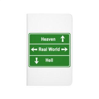 Cielo, mundo real y infierno cuadernos
