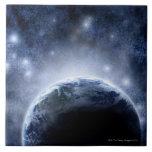 Cielo nocturno Airbrushed por completo de estrella Tejas