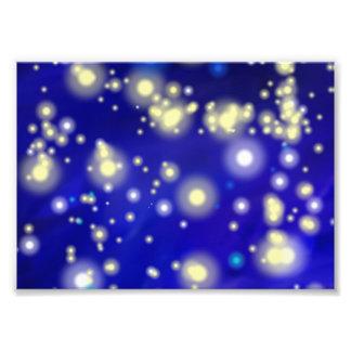 Cielo nocturno azul 32,2 impresion fotografica