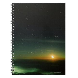 Cielo nocturno libro de apuntes