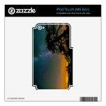 Cielo nocturno de la montaña iPod touch 4G skins