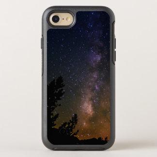 Cielo nocturno de la vía láctea, California Funda OtterBox Symmetry Para iPhone 7