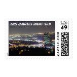 Cielo nocturno de Los Ángeles Sello