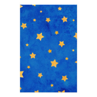Cielo nocturno estrellado papeleria