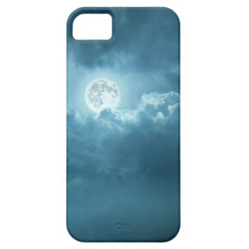 Cielo nocturno funda para iPhone 5 barely there