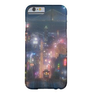 Cielo nocturno grande del héroe 6 funda barely there iPhone 6