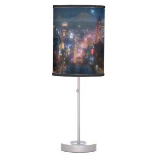 Cielo nocturno grande del héroe 6 lámpara de mesa