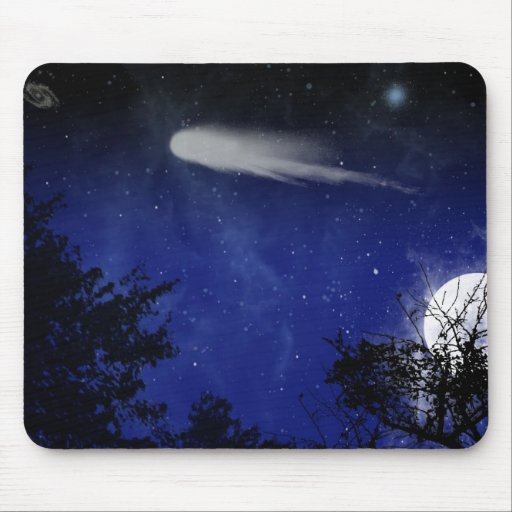 Cielo nocturno mouse pads