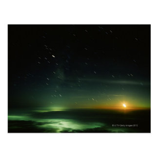 Cielo nocturno postales