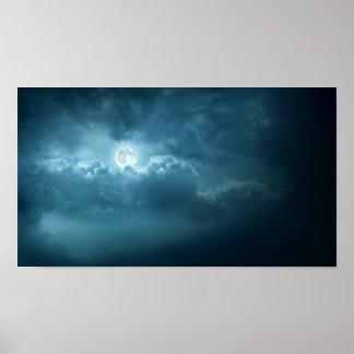 Cielo nocturno póster