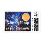 Cielo nocturno sellos