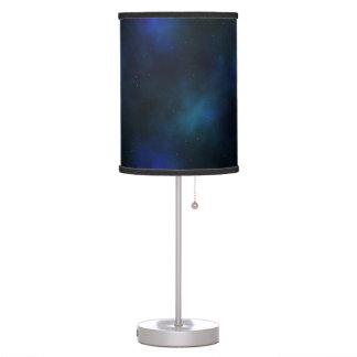 Cielo nocturno y nebulosa estrellados magníficos lámpara de mesa