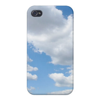 Cielo nublado iPhone 4 cárcasas