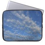 Cielo nublado mangas portátiles
