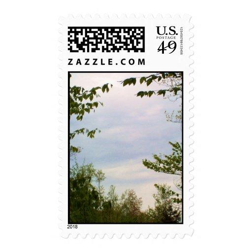Cielo nublado sellos