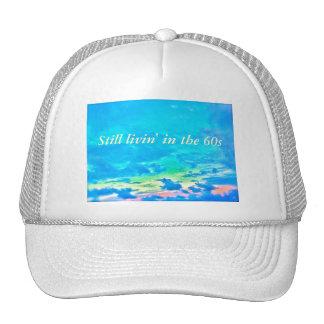 Cielo psicodélico gorras