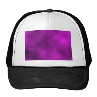 Cielo púrpura gorras de camionero
