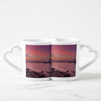 Cielo radiante set de tazas de café