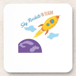 Cielo Rockets Posavasos De Bebida