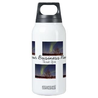Cielo septentrional colorido; Promocional Botella Isotérmica De Agua