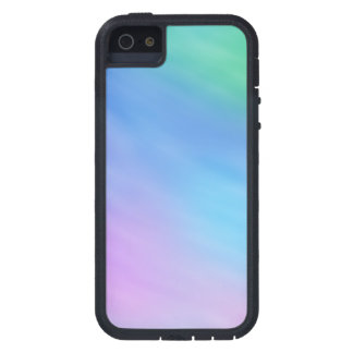Cielo suave femenino del arco iris iPhone 5 fundas
