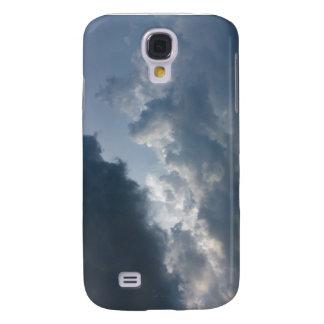 Cielo tempestuoso, nublado funda para galaxy s4