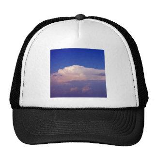 Cielo una tormenta en vista gorra