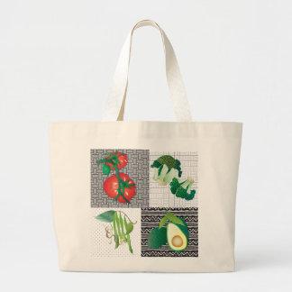 Cielo vegetal bolsa tela grande