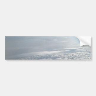 Cielo, visión plana, nubes hermosas pegatina para coche