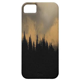 Cielo y árboles amenazadores del Parque Nacional Funda Para iPhone 5 Barely There