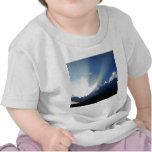 cielo y cielo azul camiseta