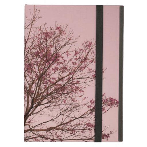 Cielo y fotografía rosados del árbol