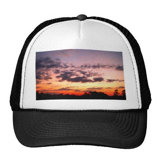 cielo y nube hermosos gorras de camionero