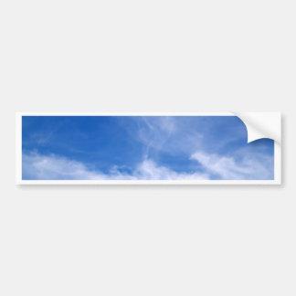 cielo y nube hermosos pegatina para auto