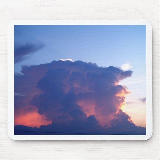 cielo y nube hermosos tapete de ratones