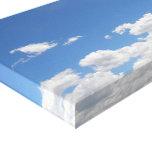 Cielo y nubes impresión en lona