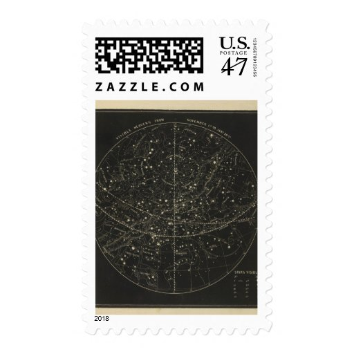 Cielos 1 de noviembre 20 de enero sello postal