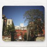 Cielos azules sobre el East Village Alfombrillas De Ratón