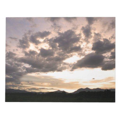 Cielos de Colorado Blocs De Papel