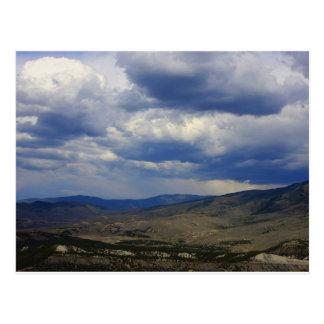 Cielos de Colorado Tarjeta Postal