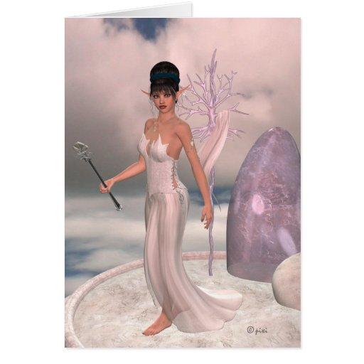 Cielos de Elven - tarjeta de felicitación