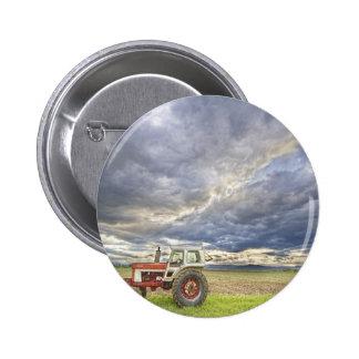 Cielos de la tarde del país del tractor de Turbo Pin