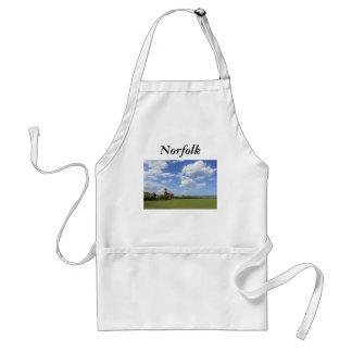 Cielos de Norfolk Delantal