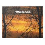 Cielos de Wisconsin Blocs De Notas