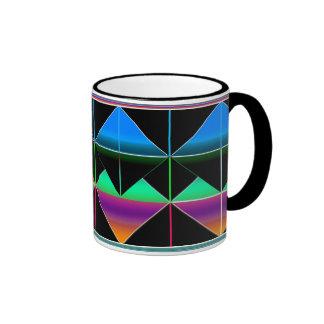 Cielos egipcios #1 taza de dos colores