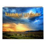 Cielos iluminados calendarios de pared