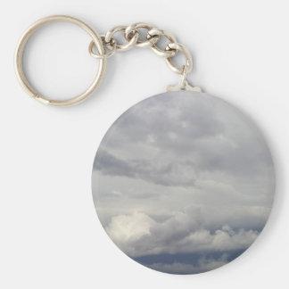 Cielos nublados llaveros