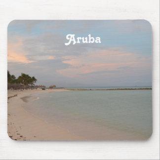 Cielos rosados en Aruba Alfombrilla De Ratón