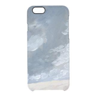 Cielos tempestuosos funda clear para iPhone 6/6S