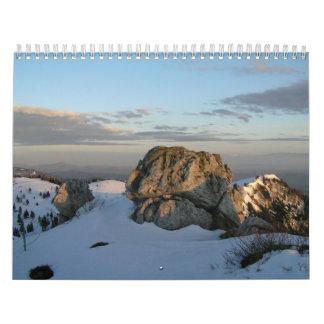Cielos y naturaleza calendarios